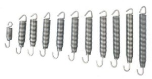Helix Racing Products Stainless Steel Exhaust Springs, Part #177-17