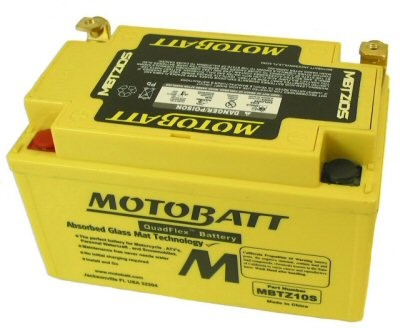 MotoBatt Quadflex Battery 12v 10ah, Part #104-29