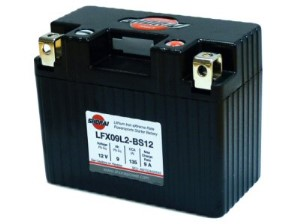 Shorai Lithium Battery 12V 9Ah, Part #104-48
