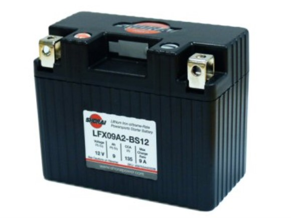 Shorai Lithium Battery 12V 9Ah, Part #104-49