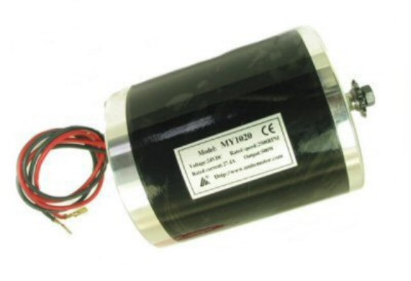 24V, 500W Electric Motor, Part #220-23