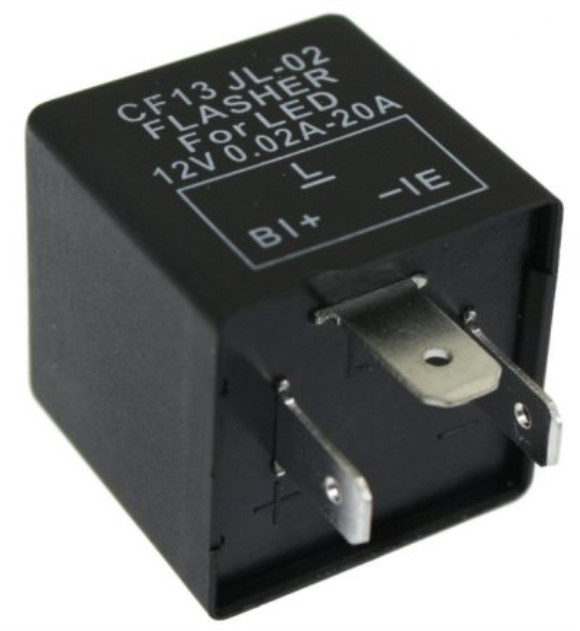 Scooter LED Turn Signal Relay