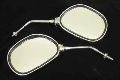 Chrome Mirror Set, Part #108-40