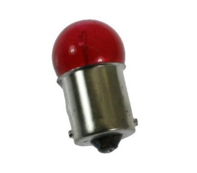 Front Turn Signal Bulb-Red, Part #100-143
