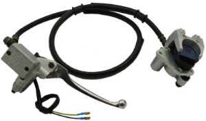 Front Hydraulic Brake Assembly, Part #100-166