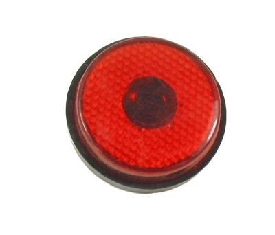Round, Red Reflector, Part #138-16