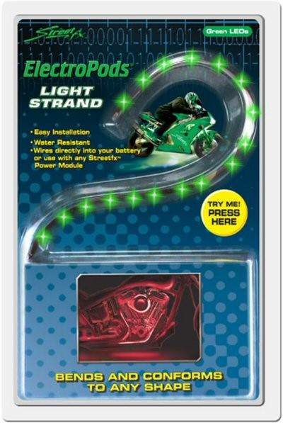 StreetFX ElectroPods Light Strands, Part #138-76