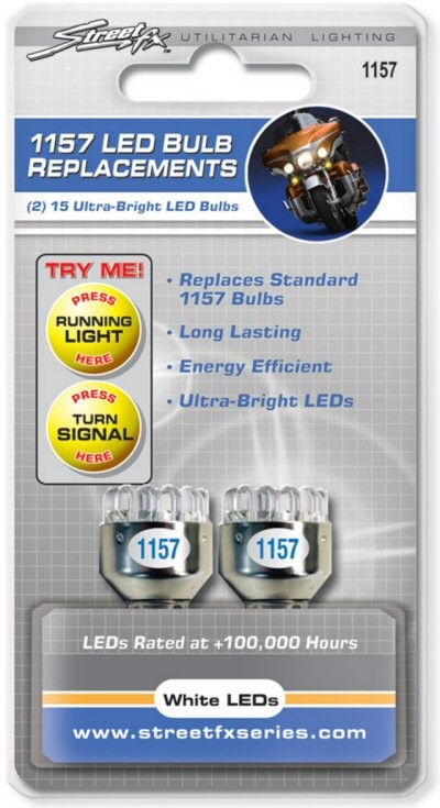 StreetFX 1157 Replacement Bulbs 2 Pack, Part #138-97