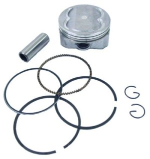 Hoca GY6 Piston Kit for 4-Valve Head, Part #169-169