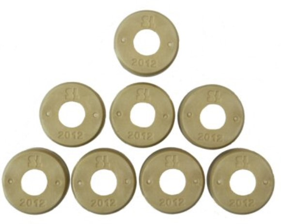 Dr. Pulley 20x12 Round Roller Weights, Part #169-289