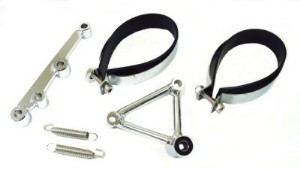 Bracket Set & Hardware for Performance Exhausts, Part #190-34