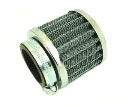 Compact Chrome Performance Air Filter, Part #230-39