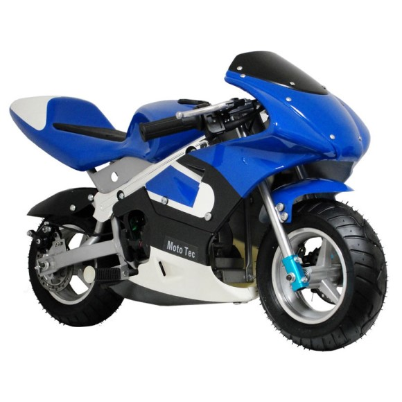 MotoTec Gas Pocket Bike 33cc 2-Stroke