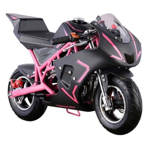 MotoTec Cali Gas Pocket Bike 40cc 4-Stroke MT-GP-Cali_Pink