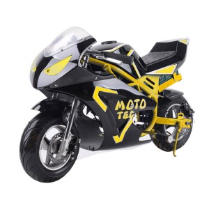 MotoTec 36v 500w Electric Pocket Bike GT MT-Elec-GT_Yellow