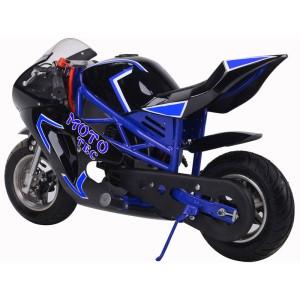 MotoTec Gas Pocket Bike GT 49cc 2-Stroke side