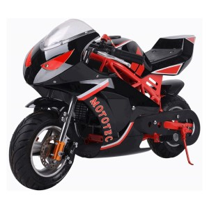 MotoTec Gas Pocket Bike GT 49cc 2-Stroke MT-Gas-GT_Red
