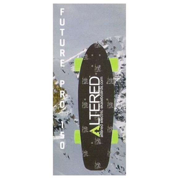 Altered Electric Skateboards Future Pro 150 Electric Skateboard