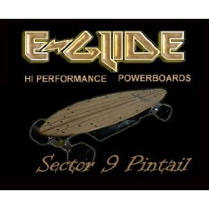 E-Glide Sector 9 Electric Powerboard / EGlide Skateboard