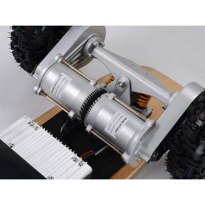 MotoTec 1600w Dirt Electric Skateboard motor