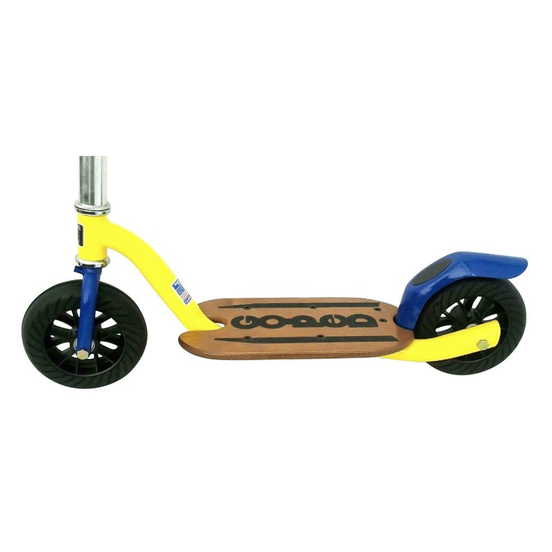 Go-Ped Grow-Ped Kick Scooter yellow and blue