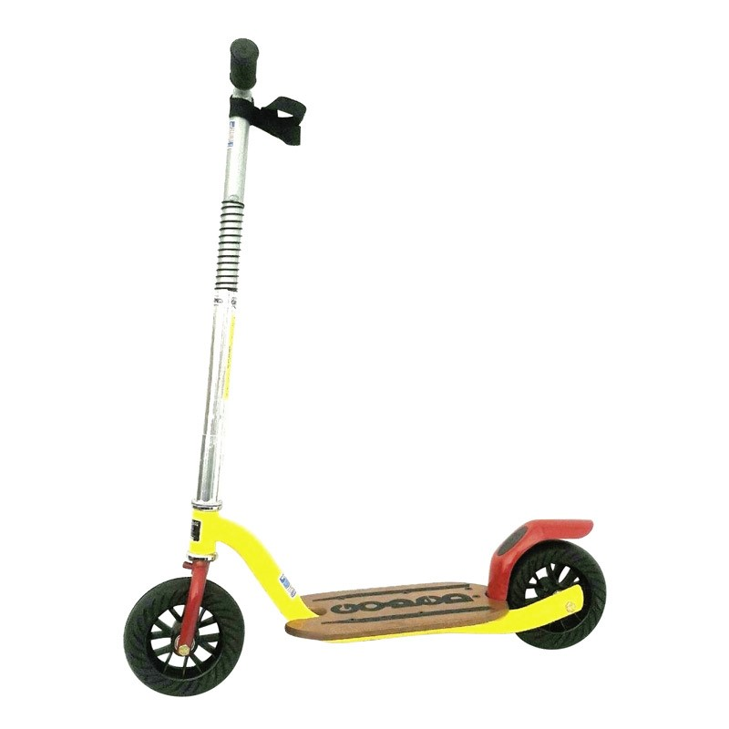 Go-Ped Grow-Ped Kick Scooter red and yellow
