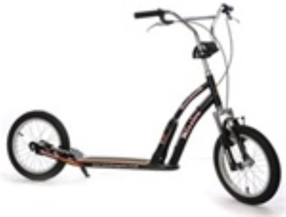 "Mission Boardwalk 20"" Adult Kick Bike Suspension Scooter"