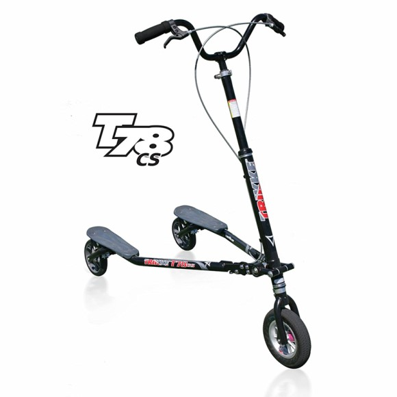 Trikke Tech T7 Series 3-Wheeled Carving Scooter