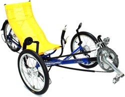 Greenspeed GT3 (Series II) Folding Recumbent 9-Speed Tricycle