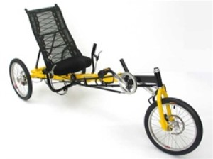 Greenspeed Anura Recumbent 8 Speed Delta Tricycle