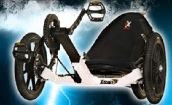 KMX Tornado F3 BMX Tricycle