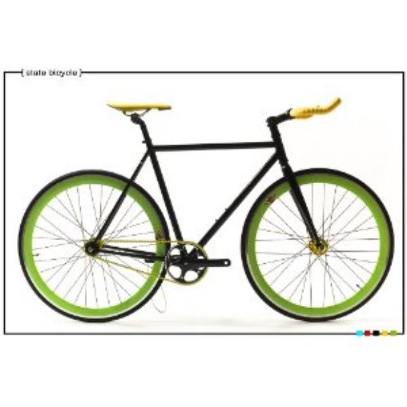State Bicycle Co. - Jamaica - Fixed Gear Bike 52 cm