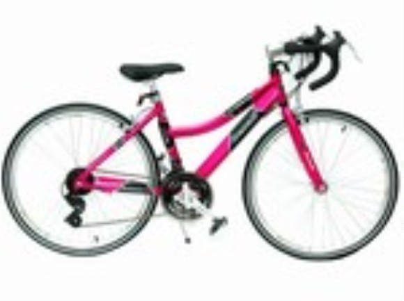 "GMC Denali 21 Speed Girls Aluminum 24"" Road Bike"