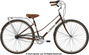 Nirve Sports Wilshire Mixte Ladies Commuting 3-Speed Road Bike