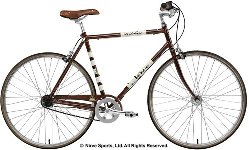 Nirve Sports Wilshire Men's Commuting 3-Speed Road Bike