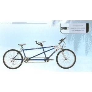 "TANDEM BICYCLE 26"" Shimano SPORT"