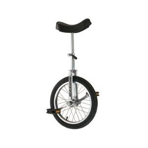 "Torker Unistar CX Unicycle 16"" Black"