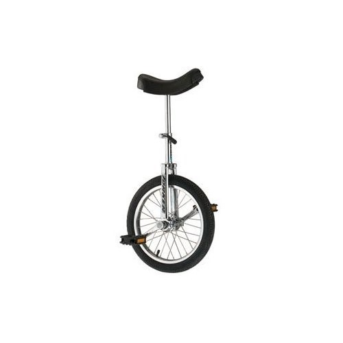 "Torker Unistar CX Unicycle 16"" Chrome"