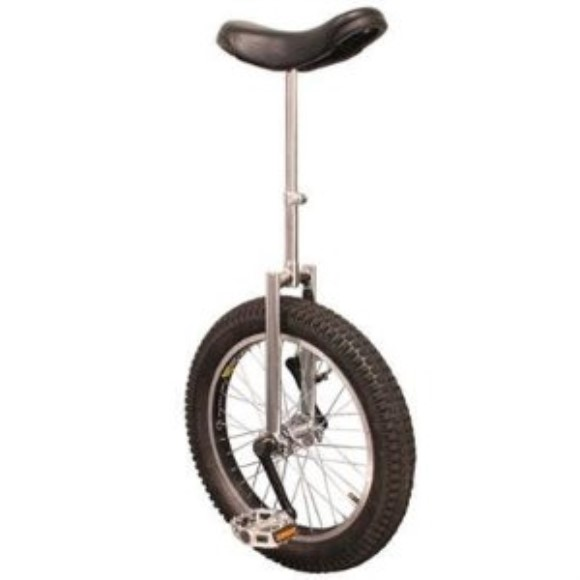 "Summit Heavy Duty Unicycle - 20"" Wheel - Chrome"