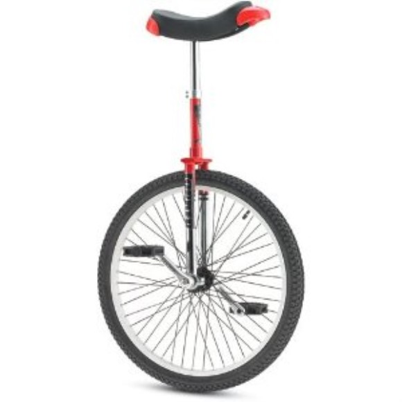 "Torker Unistar LX-24 Unicycle - 24"" Red/Chrome"