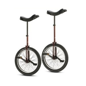 Torker Unistar LX Pro Unicycle, Tall, Merlot