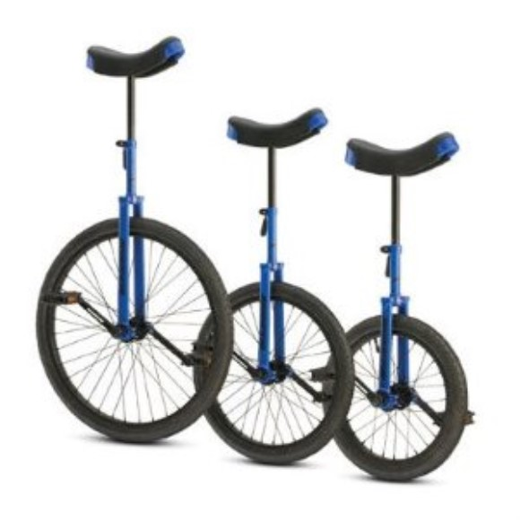 "Torker Unistar CX Unicycle 16"" Blue"