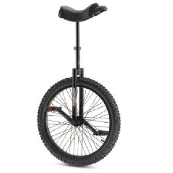 "Torker Unistar DX 24"" Unicycle - Black"
