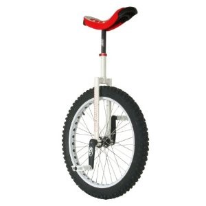 CFG Russian 24-Inch Unicycle (White/Red)