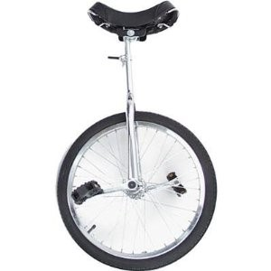 "Summit Unicycle - 16"" Wheel - Chrome"