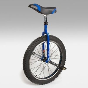 Kris Holm 24 Inch Mountain Unicycle - Blue - UNI-KH-24