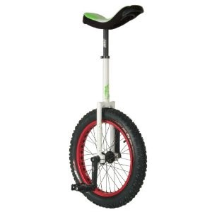 CFG Spirit 20-Inch Unicycle (White/Green)