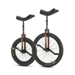 "Torker Unistar DX Unicycle 20"" Wood"