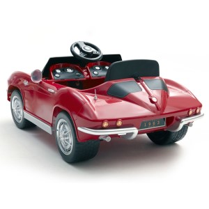 Electric Corvette Stingray ride-on-toy from Kalee