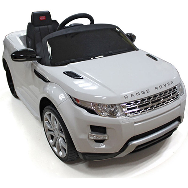 Land Rover ride-on toy, the Evoque from Rastar
